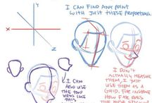 Anatomy & Expression / How To Draw
