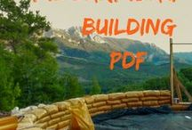 Earthbag Building / Tips and How to for Earthbag Building from The Mud. The free earthbag building PDF. How to build an earthbag house. The earthbag guilding guide.