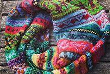 ruční práce - pletení