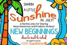 Hello Sunshine - Back-to-School / Teaching ideas, products, resources and links to help get you ready for back-to-school!