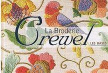 ruční práce - Crewel, Jacobean...