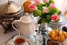 JÍDLO - Tea and tea party