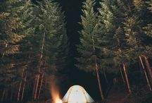 nature, camping, traveling