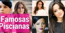 Famosas Piscianas / Algumas famosas, atrizes, cantoras e celebridades do signo de peixes.