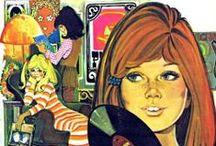 retro:  flashback to the '60's & '70's / by Nancy Haley
