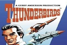 Thunderbirds books / Official and authorized tie-in novels based on the Thunderbirds TV series by Gerry and Sylvia Anderson