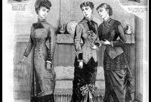 1800s Vintage Fashion / Vintage clothing from the 1800s www.vintageclothin.com