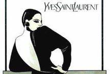 Yves Saint Laurent / Vintage clothing from Yves Saint Laurent www.vintageclothin.com