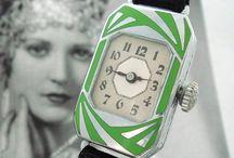 Vintage Timepieces / Vintage Timepieces, watches, Clocks from all eras www.vintageclothin.com