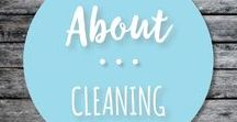 About Cleaning / About cleaning hacks for your home and DIY cleaner recipes.