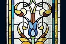 Stained Glass / My work and my passions includes besides graphics and special printing techniques, stained glass&mosaics, I love to work together with my hubby on his projects. You are welcome to visit some of our works. Enjoy!