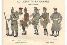 First World War - WWI (Prima guerra mondiale - Grande Guerra)