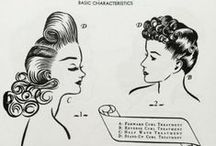 Vintage Hairstyles / Vintage hairstyles from all eras. www.vintageclothin.com