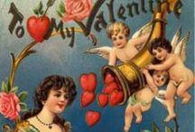 Vintage Valentine Day / Vintage Valentine's Day items from all eras. www.vintageclothin.com