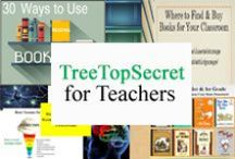 Tree Top Secret for Teachers / Products Designed for K - 5 Teachers / by Tree Top Secret Education