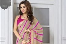 Printed Party Wear Sarees / Look gorgeous, different and unique in every party with our affordable latest printed sarees. Indian designer printed party wear saree collection at Sawaree.com.
