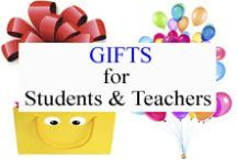 Gifts for Students and Teachers / Appreciate and Celebrate with these gift ideas. / by Tree Top Secret Education