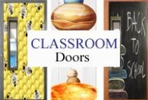 Classroom Doors / Creative Classrroom Doors / by Tree Top Secret Education