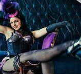 Burlesque Bachelorette Party / Burlesque themed Bachelorette Party. Dancing, Dress-up, Glamour 1920's Style!