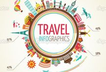 Travel infographics / Funny and informative graphics about our true love, Travel!