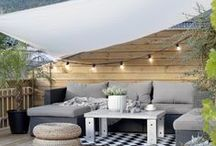 Outdoor living / Ideas and inspiration to help you style a beautiful and comfortable outdoor living area.