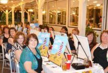 Painting events 2015 / Come check out some of our past painting events and let us know what you think!