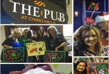 A look at events at The Pub in Chino Hills / A board about some of our awesome events at The Pub in Chino Hills. To join us check out of website Letspainttonight.com.