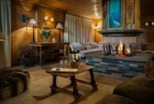 Chalet Hermine - Courchevel 1850, France / Luxury catered chalet in Millionaire's Row, just a short walk to the centre of Courchevel 1850 and close to the Cospillot piste. Sleeping up to 12 guests, this spacious and charming chalet has 6 ensuite bedrooms including a master bedroom with its own jacuzzi hot tub. It even has its own wellness area with sauna and jacuzzi as well as a south facing sun terrace.