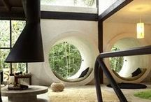Modern spaces / Modern spaces I enjoy and imagine living in.