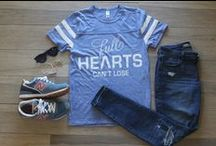 """Full Hearts Can't Lose / This is what our popular """"Full Hearts Can't Lose"""" Tee means to us..."""