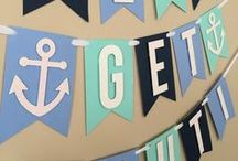 Lets get Nautical / Sail away to the party of a lifetime! Little bits of sexy with a Nautical Sail Away theme!