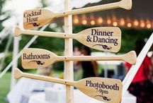 Beachy Wedding Ideas / From elegant and sophisticated to casual and playful...anything goes here for wedding decor on the Outer Banks!