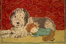 Hooked rugs / by Linda B