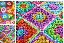 Crochet Granny Squares / by Sue Kayser