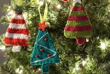 Cosy Christmas / Inspiration for Christmas knitted and crochet decorations.
