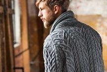 Knits for Men / Knitting inspiration for men.