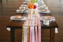 Wedding Tablescapes & Layouts