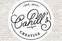 Logo Design / Logo design done by Cahill's Creative.