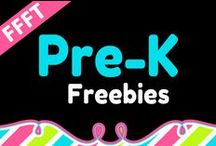 FFFT Pre-K / FREE products for teachers and homeschooling parents of Pre-K children.