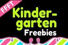 FFFT Kindergarten / FREE products for teachers and homeschooling parents of Kindergarten children.