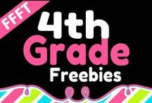 FFFT 4th Grade / FREE products for teachers and homeschooling parents of 4th grade children.