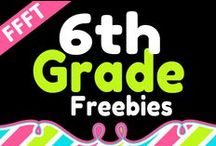 FFFT 6th Grade / FREE products for teachers and homeschooling parents of 6th grade children.