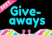 FFFT Giveaways / Giveaways offered by members of Fabulous Freebies for Teachers.
