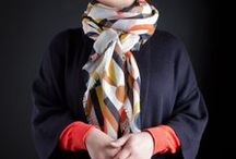 MARIA HATLING SCARVES / Maria Hatling scarf collection 1:  The Key To Happiness   INSTAGRAM: @gallerybobbin #mariahatling #thekeytohappiness  All Maria Hatling scarves are made locally with love in the UK.