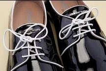 Woman's Lace-up Shoes 26273 Pakerson - Scarpe Allacciate Donna 26273 Pakerson / The Pakerson lace-up Moccasin is a minimal chic shoe of great quality and sophistication. Retro recollections for exquisitely detailed handmade luxury footwear.- Il Mocassino stringato Pakerson in vernice nera è un minimal chic di pregio e raffinatezza.Sensazioni rétro per una calzatura artigianale curata in ogni dettaglio. http://store.pakerson.it/woman-lace-up-shoes-26273-nero.html