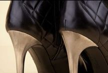"""High-heel Ankle Boots 24432 Black - Tronchetti Tacchi 24432 Nero / A glamorous choice for a sophisticated woman who appreciates the """"plusses"""" of Italian artisan footwear. Discover the new collection at the Pakerson online shop. - Una scelta glamour per donne sofisticate che non rinunciano ai plus delle scarpe artigianali Italiane. Scopri la nuova collezione nel negozio online Pakerson."""