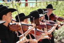 Calgary Fiddlers / This exciting young Canadian ensemble performs a variety of music, ranging from traditional folk fiddling, to country, bluegrass, Celtic, and even big band.