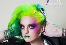Manic Panic Electric Lizard / Reference pics for Manic Panic Semi-Permanent hair colour in Electric Lizard. Vegan & Cruelty-Free. Available in Classic & Amplified. For full product catalogue email us: info@anonamiss.co.za
