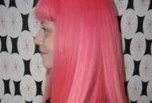 Manic Panic Pretty Flamingo / Reference pics for Manic Panic Semi-Permanent hair colour in Pretty Flamingo. Vegan & Cruelty-Free. Available in Classic. For full product catalogue email us: info@anonamiss.co.za