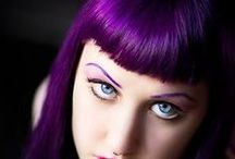 Manic Panic Violet Night / Reference pics for Manic Panic Semi-Permanent hair colour in Violet Night. Vegan & Cruelty-Free. Available in Classic. For full product catalogue email us: info@anonamiss.co.za